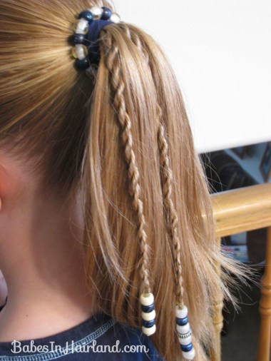 How to add beads to the ends of braids (16)