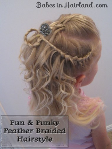 Cascade/Feathered Braid Hairstyle (1)