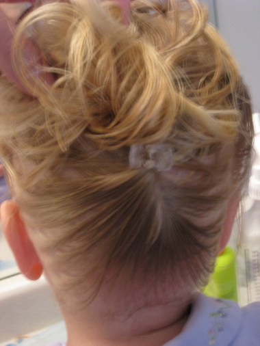 Baby Hair Easter Hairstyle (6)