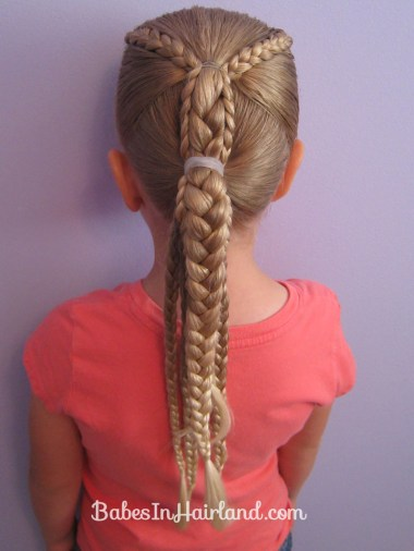 Ponytails and Braids Hairstyle (12)