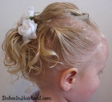 Baby Hair Easter Hairstyle (1)