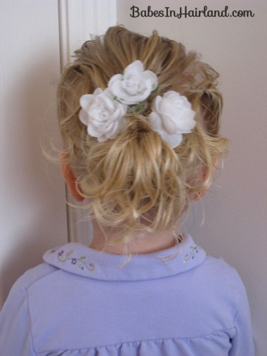 Baby Hair Easter Hairstyle (9)