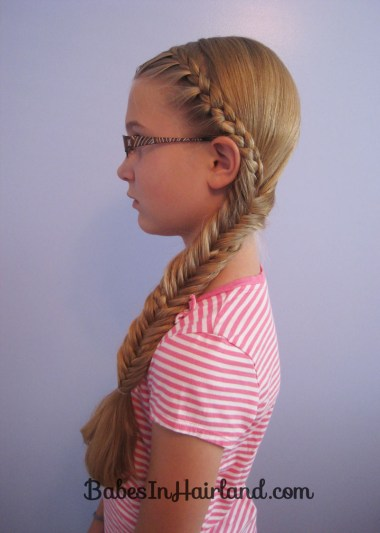 Half French Braid into a Fishbone Braid (12)