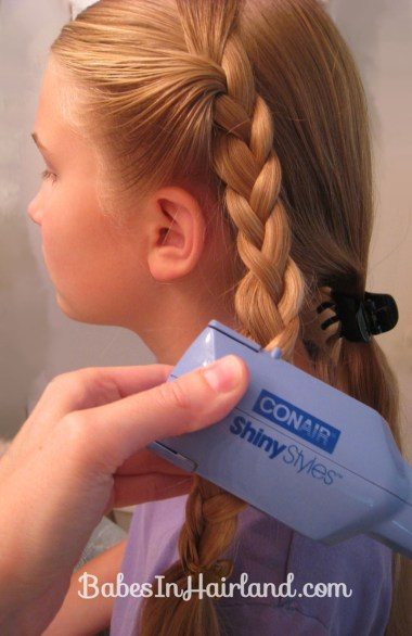 Crimped Braids and Messy Bun (4)