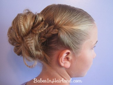 Crimped Braids and Messy Bun (9)