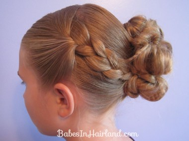 Crimped Braids and Messy Bun (10)