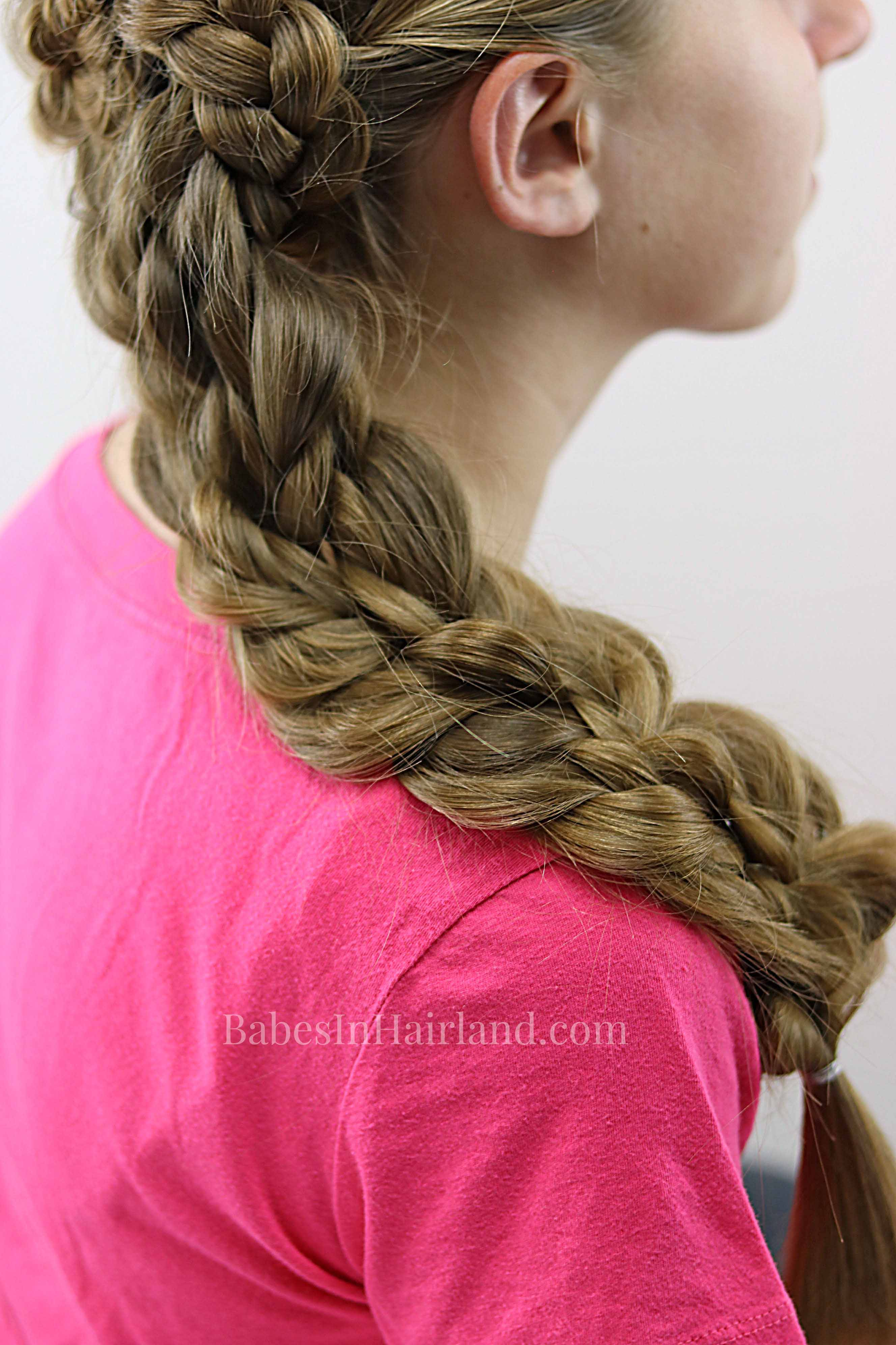 side swept braids amp braided flower an edgy but elegant