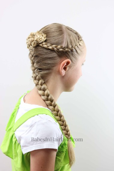 bun hair style braids and knotted bun a hairstyle for every season 8113