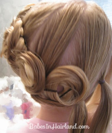 Crown of Pin Curls (10)