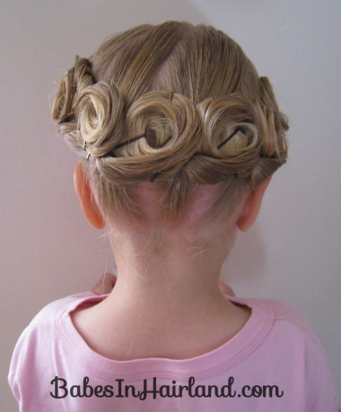 Crown of Pin Curls (12)