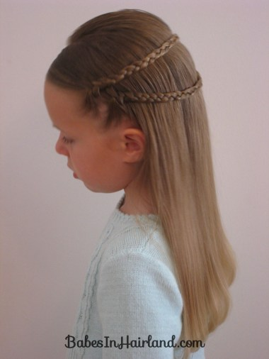 Small Wrap Around Braid Hairstyle (2)