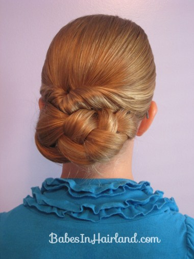 Easy Rolled Braid Updo (11)