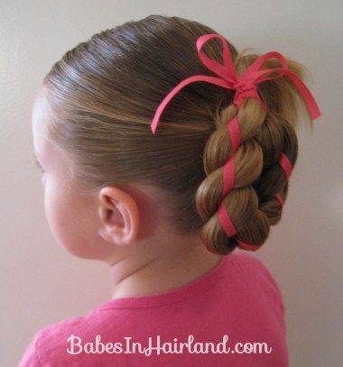4 Strand Braid with Ribbon In It (9)