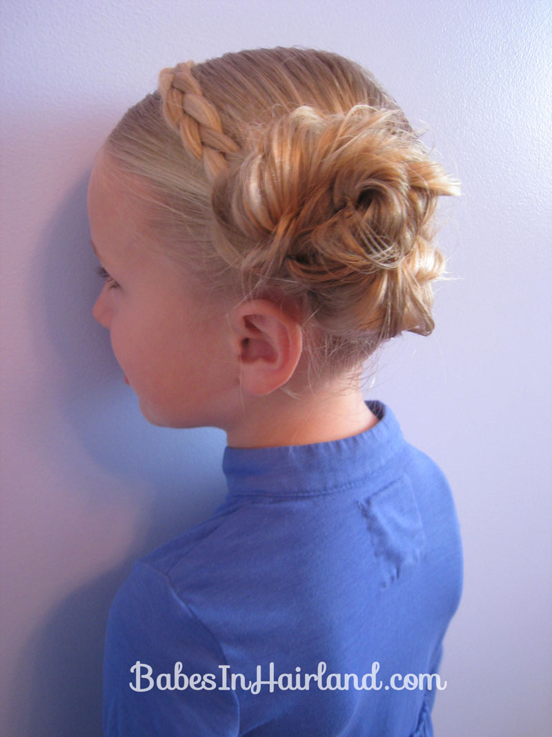 Braided Headband Amp Messy Buns Babes In Hairland