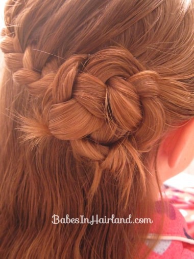 Half-French Braided Updo (7)