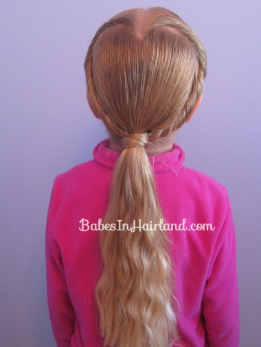 Rolled Heart | Valentine's Day Hairstyle (9)