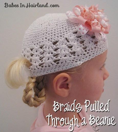 Braids Pulled Through a Beanie Cap (1)