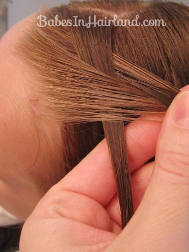 Half French Braid Hairstyle - BabesInHairland.com (3)