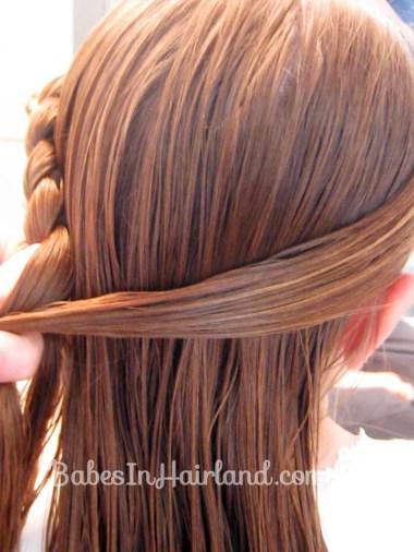 Half French Braid Hairstyle - BabesInHairland.com (6)