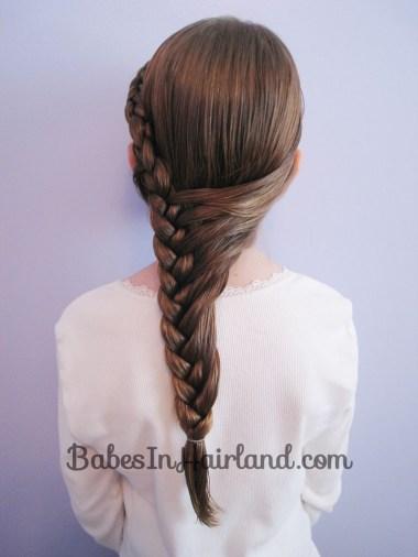 Half French Braid Hairstyle - BabesInHairland.com (12)