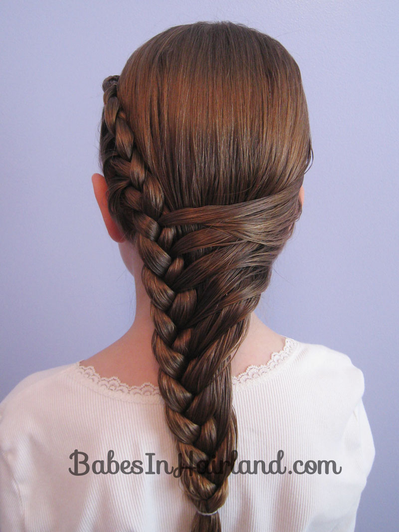 french braid hairstyle - babes