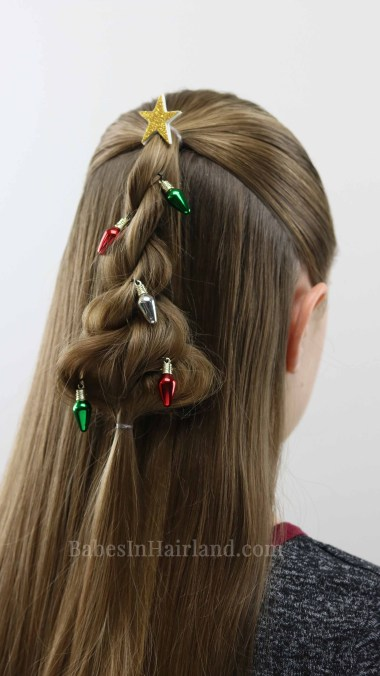 cute christmas hair styles twisted tree hairstyle a hairstyle 5427 | IMG 9782 1B