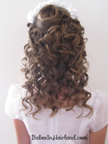Pile of Curls Redo - Baptism Hair (1)