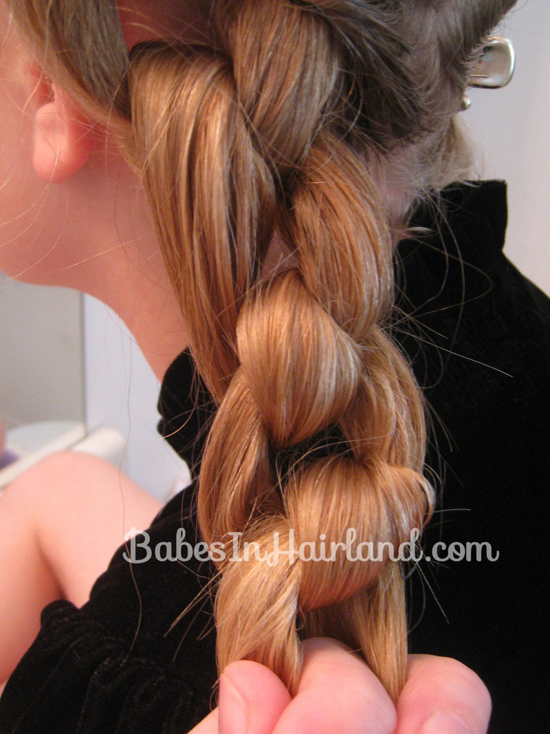 Chunky Knot Milkmaid Braids Babes In Hairland - Diy hairstyle knotted milkmaid braid