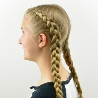 How to: Tight Dutch Braids on Yourself