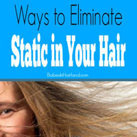 Ways to Eliminate Static in Your Hair
