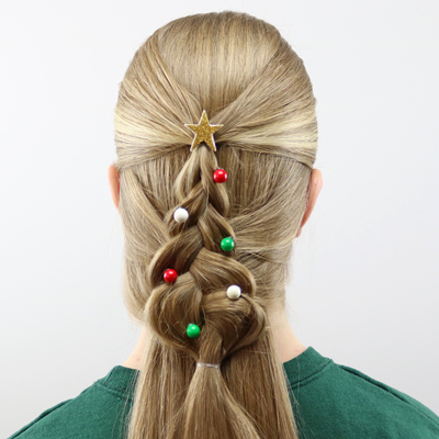 Mermaid Braid Christmas Tree