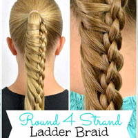 Round 4 Strand Ladder Braid