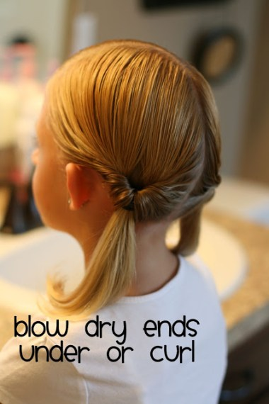 Topsy Tail Hairstyles | BabesInHairland.com #topsytail #flippedponytail #hair #hairstyles