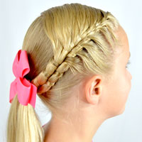 French Figure 8 Braid