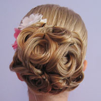 Easy Looped Updo