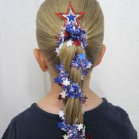 3 Patriotic Hairstyles
