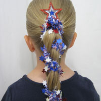 Patriotic Hairstyles from BabesInHairland.com (1)