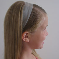 How to Secure a Ribbon Headband