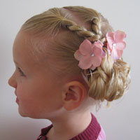 Combo Toddler Hairstyle