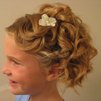 Cascading Pinned Up Curls