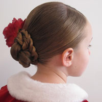 Double Rope Braided Updo