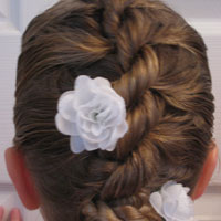 Rope/Twist Braid – French Style