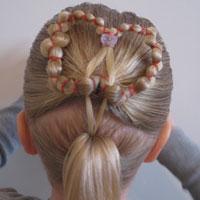 Heart Wreath Hairstyle