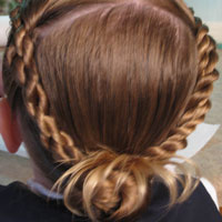 Rope Braid / Turkey Bun Combo