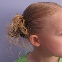 Curly Pom Pom Ponies