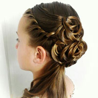 Elegant Half-Updo | Homecoming, Prom or Wedding
