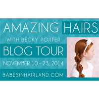 Amazing Hairstyles Book Blog Tour