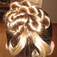 Wrapped RopeTwist Braids Babes In Hairland