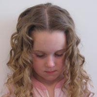 Alice in Wonderland Hairstyle #2