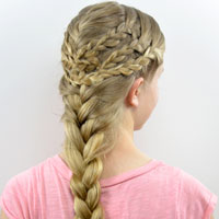 Triple Braided Boho Style